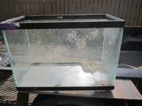 """Good condition tank that just needs cleaned. Almost 17"""""""