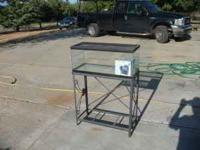 Tank & stand for sale.