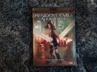 Resident Evil: Apocalypse  Special Edition DVD.  $5