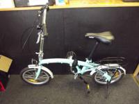 For sale is this Citizen Honest Folding Bicycle. This