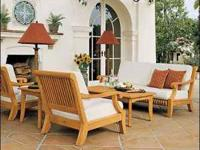 This post includes: 6pc KUTA TEAK DEEP SEAT SET SKU:
