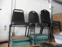 Restaurant Chairs (Used) for sale. Black and different