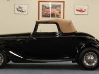 RESTO-ROD  Black Exterior, Tan Interior &