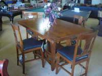 RESTORATION HARDWARE COUNTER HEIGHT DINING ROOM/DINETTE