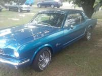 I HAVE A RESTORE 1965 FORD MUSTANG WITH A 5.0 COBRA V/8