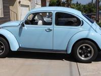 Restored 1974 VW Bug, California Style Less than 7,000