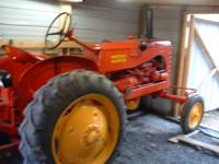 SEE IT ON EBAY. 1952 Massey Harris Colt model #21