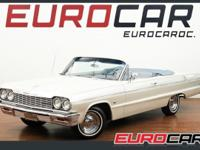 FEATURED: 1964 CHEVROLET IMPALA SS CONVERTIBLE RESTORED