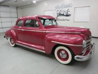 1947 Plymouth Special Deluxe Club Coupe 2dr. with only
