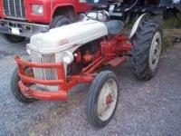 Restored 1958 Ford 641 Farm Tractor, over $2,000.00 in