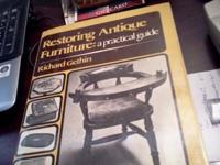 Hardcover by Richard Gethin Restoring Antique Furniture