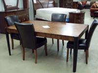 New 72 in up to 90 in retangle dinning table with