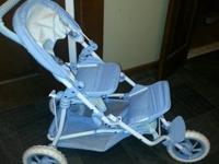 I have a retired bitty baby doll double stroller.  The
