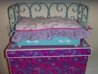 I am selling an American Girl Doll Trundle Bunk Bed.