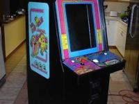 This is a complete size coin operated arcade, (Not an