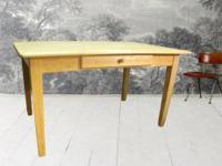 Retro-contemporary designed glass dining set for sale!