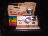 Excellent condition Polaroid OneStep Land Camera extra