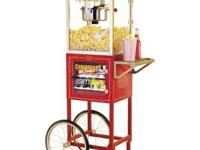 I'm selling a Retro Popcorn Maker & Concession Cart