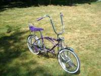 ". . 20"" BRATZ BIKE ... Retro Sting-Ray Style ... VERY"