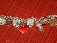 This was my charm bracelet when I was very young. .