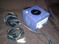 Misc retro game stuff  Working gamecube with power cord