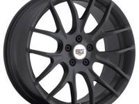 REV CLASSIC 100 18X8 POLISHED 5 SPOKE MUSCLECAR WHEEL