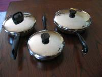I have a lovely used set of pots, pans, & covers by
