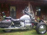Description for sale: Reverse Trike: 1999 Valkyrie. Has