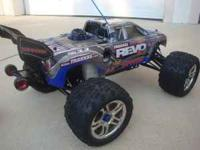 I have a Traxxas Revo 3.3 in great condition with many