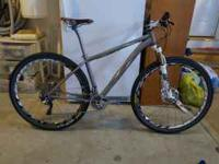 Lynskey Mountain Bike stolen out of our garage