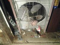 152,000 btu shop heater natural gas fired never used