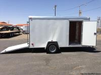 Cargo Trailers, Enclosed Trailers, Single Axle Box