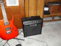 I HAVE FOR SALE A BEAUTIFUL RED METALIC . IBANEZ 120 RG