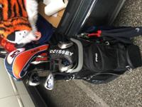 Titleist woods and driver calloway x irons odyssey