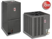 RHEEM 16 SEER CENTRAL AIR CONDITIONERS INSTALLED