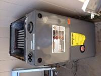 Less than 3 year old Rheem gas furnace. Model #9