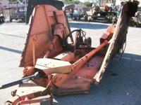 RHINO 15' BATWING MOWER HYD LIFT SOME RUST BUT WORKS