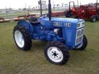 RHINO 324 4X4 TRACTOR 2 CYL DSL. ENGINE JUST OVERHAULED
