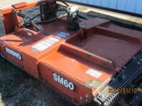 USED Rhino Model SM60 SkidSteer Rotary Mower