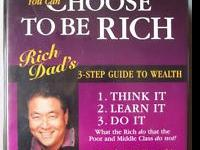 Rich Dad, Poor Dad Program 3 Step Guide to Wealth