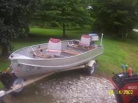 Very nice 1969 Richline 14' fishing boat with 1973