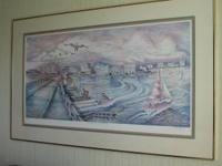 Richard Capes, Local renouned artist... Framed and