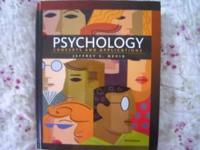 For sale is a Psycology Concepts and Application