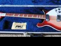 Rickenbacker 620 Electric Guitar 2001 Serial number
