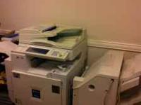 Ricoh Aficio 2238C copier/scanner for sale asking