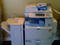 I have a Ricoh MP C3500 Color Copier with LOW mileage