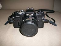 I have a Ricoh XR-7 35mm Camera Kit for sale.