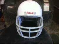 Riddell football helmet size small in good condition