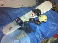 Excellent condition, gently used board, bindings &