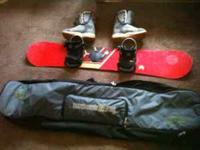 I have a mens Freestyle Ride snowboard (153cm)with